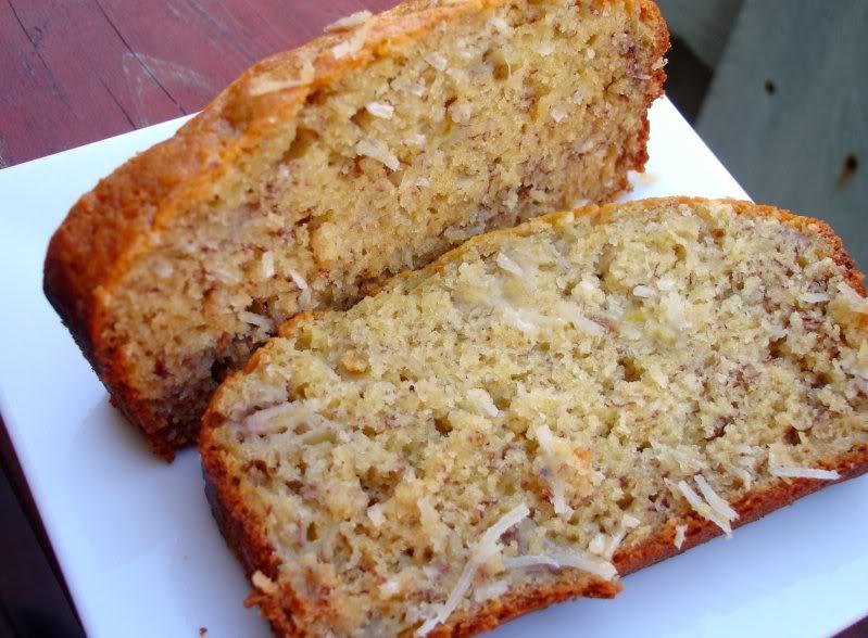 Coconut Banana Bread - Kat Loterzo